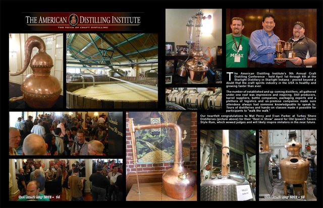 Amer ican Distilling Institute's 9th Annual Craf t Distilling Conference