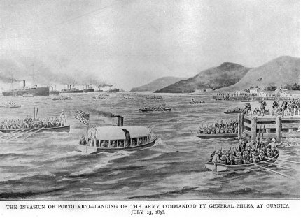 Invasion of Porto Rico 1898