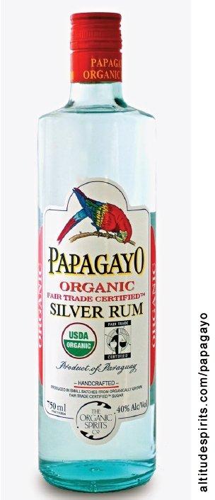 Papagayo Organic Silver Rum