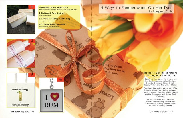 4 Ways to Pamper Mom On Her Day