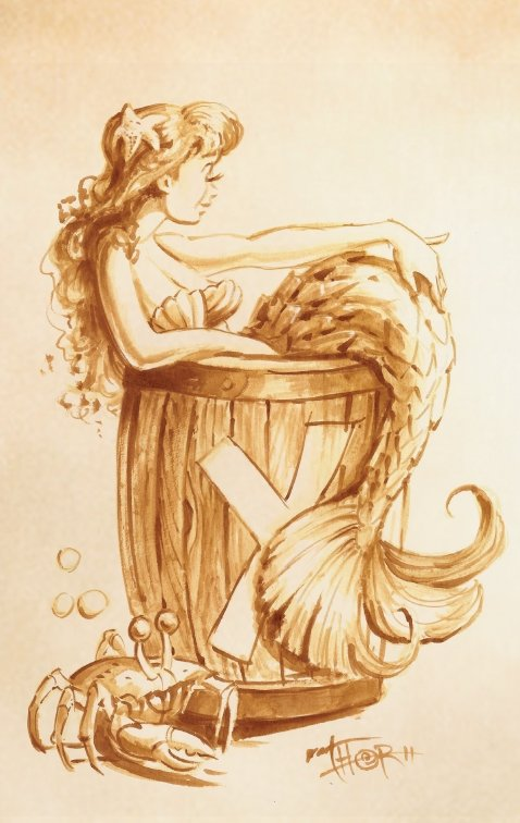 Mermaid Barrel