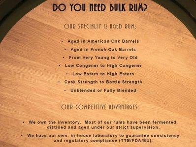 Bulk Rum