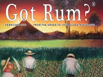 """Got Rum?"" February 2016 Featured Story"