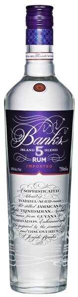 Banks 5 Island Rum (86-Proof)