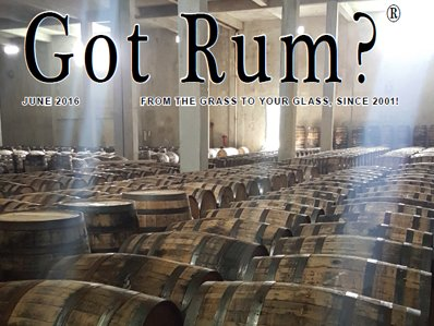 """Got Rum?"" June 2016 Featured Story"