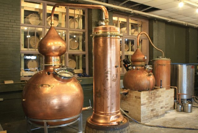 Copper Pot Stills of Tim Russell