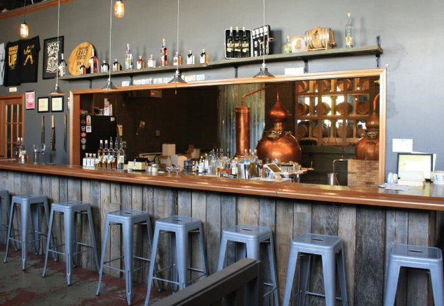 Bar at Tim Russell