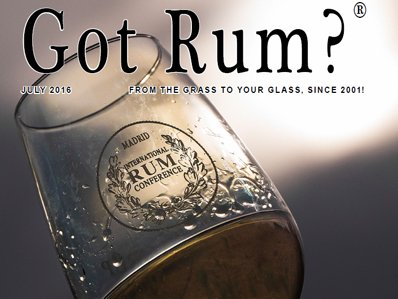 """""""Got Rum?"""" July 2016 Featured Story"""