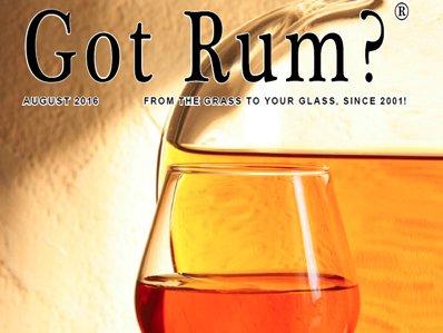 """""""Got Rum?"""" August 2016"""