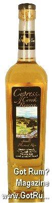 Cypres Creek Reserve Vanilla Flavored Rum