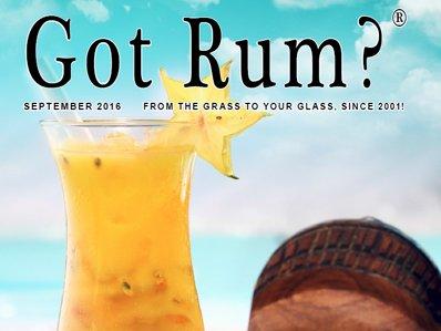 """""""Got Rum?"""" September 2016 Featured Story"""