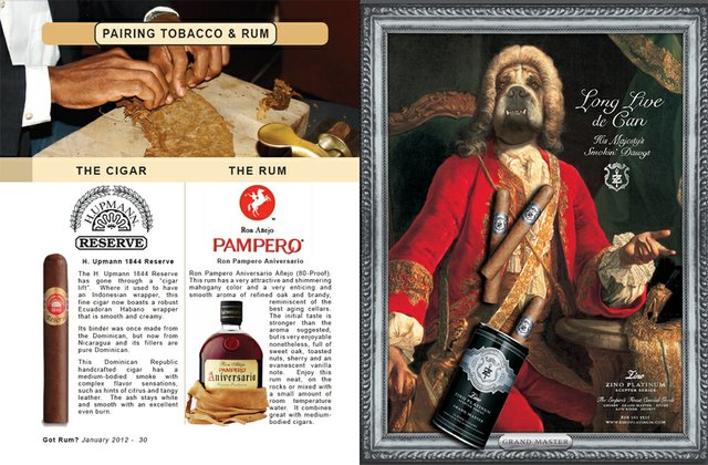 January 2012 Tobacco & Rum Pairing