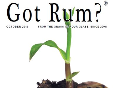 """Got Rum?"" October 2016 Featured Story"