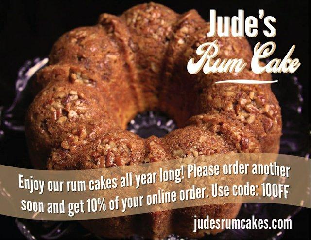 Jude's Kansas City Rum Cake