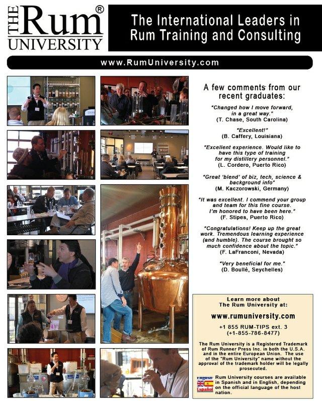 Feb 20th-24th Rum Course