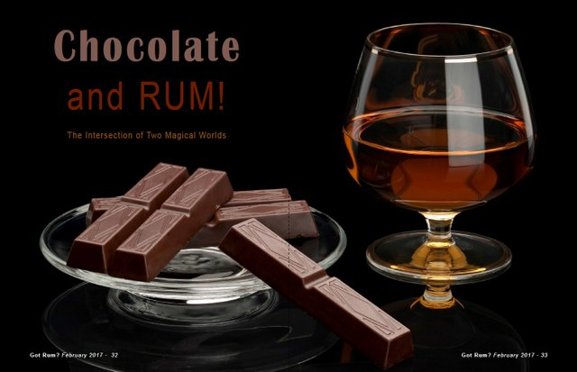 Chocolate and Rum
