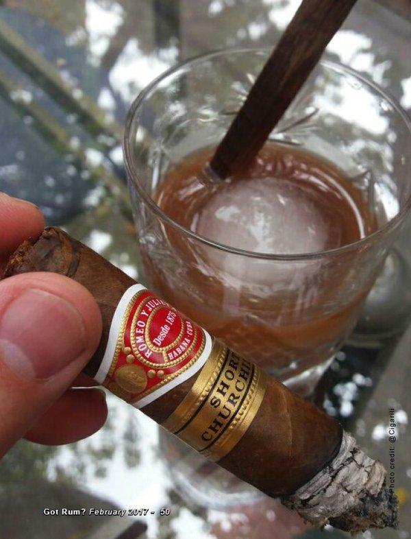 February Cigar and Rum Pairing