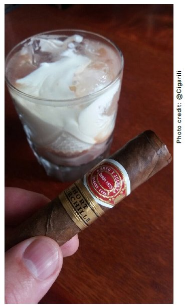 February 2017 Cigar and Rum Pairing
