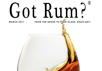 """""""Got Rum?"""" March 2017 Featured Story"""