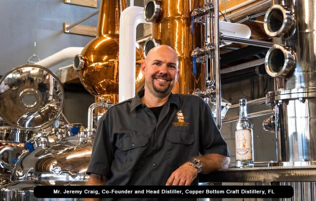 Jeremy Craig Co-Founder and Head Distiller