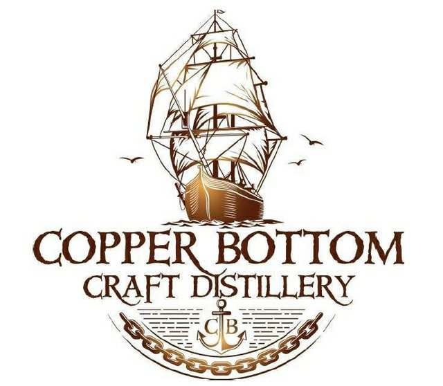 Copper Bottom Craft Distillery company Logo