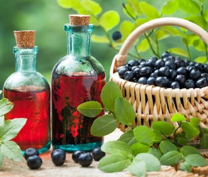 Blueberry Simple Syrup