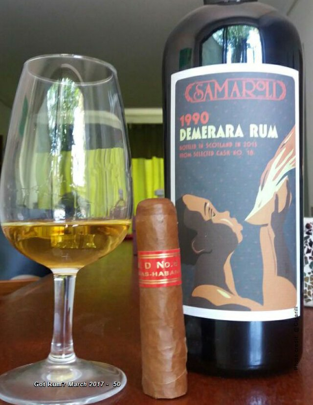March 2017 Cigar and Rum Pairing