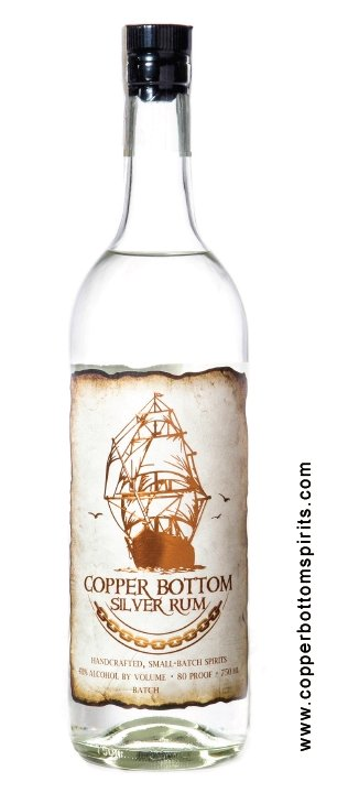 Copper Bottom Silver Rum