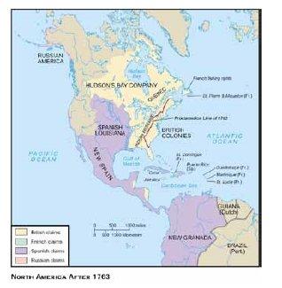 American Rum 18 map
