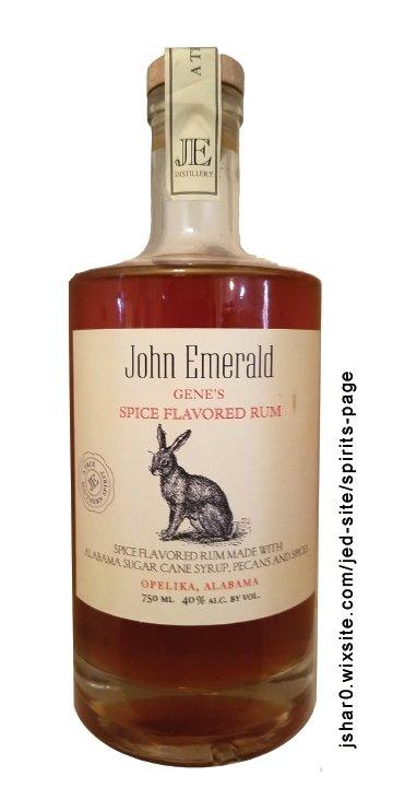 John Emerald Gene's Spice Flavored Rum