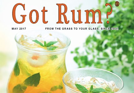 """Got Rum?"" May 2017 Featured Story"