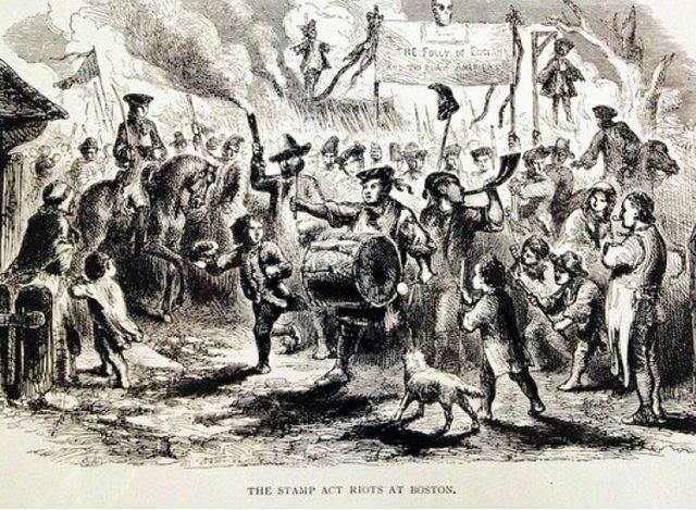 Stamp Act Riot