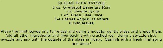 Queens Park Swizzle