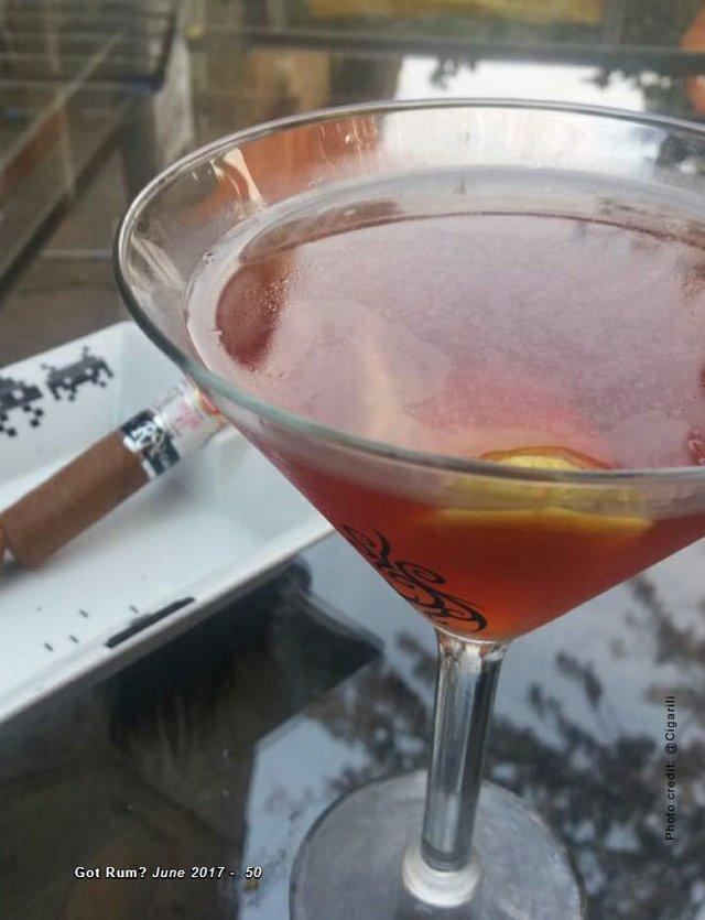June 2017 Cigar and Rum Pairing