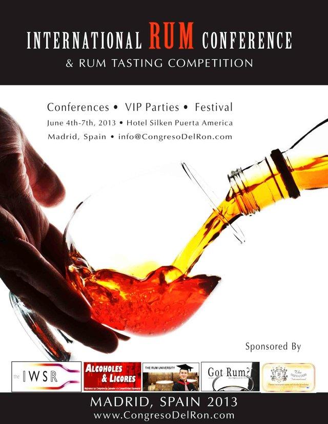 International Rum Conference 2013 - Madrid, Spain