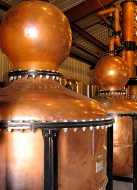 Pot Stills of Kolani Distillers
