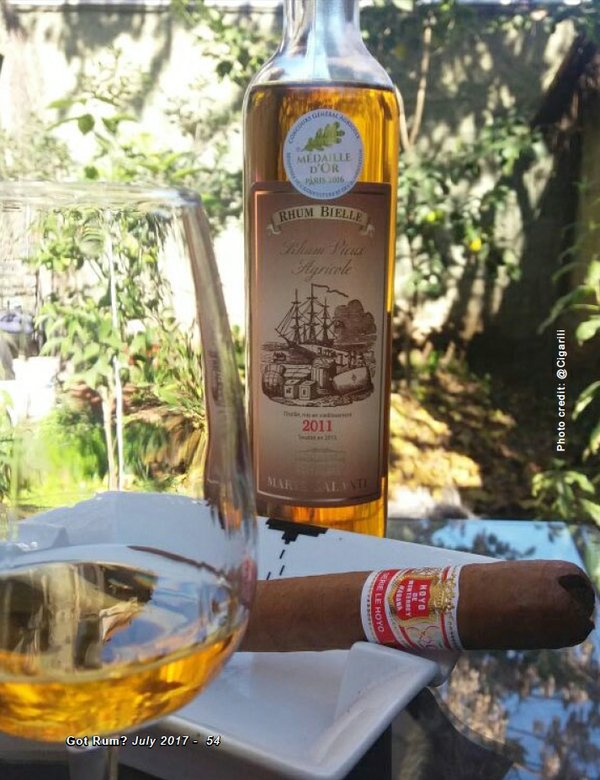 July 2017 Cigar and Rum Pairing