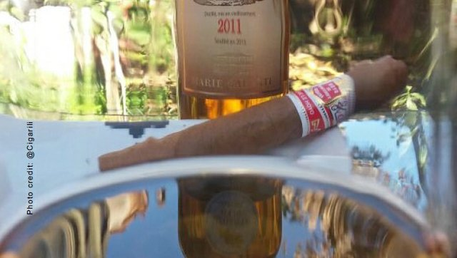July 2017 Cigar and Rum
