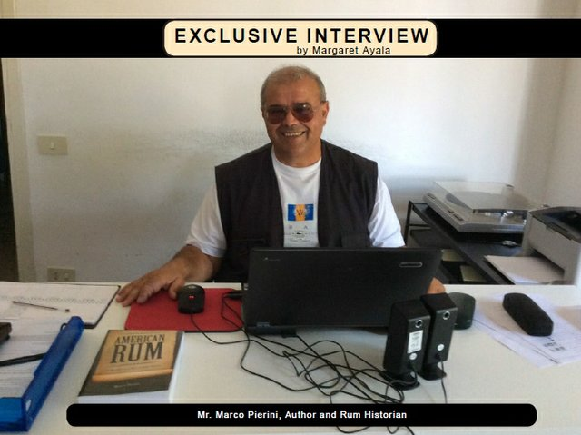 Exclusive Interview with Mr. Marco Pierini, author and Rum Historian