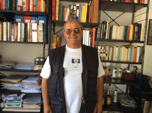 Marco Pierini author and Rum Historian