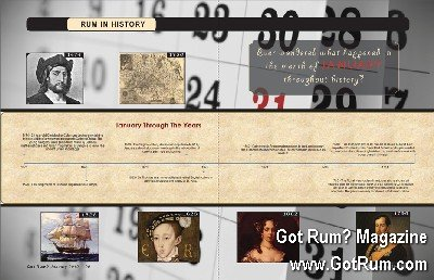 Rum in History- January