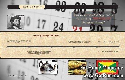 Rum in History- February