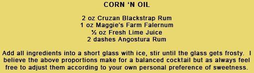 Corn 'N Oil