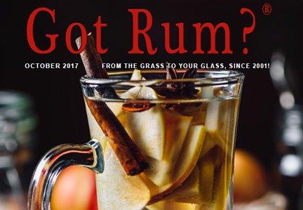 """Got Rum?"" October 2017 Featured Story"