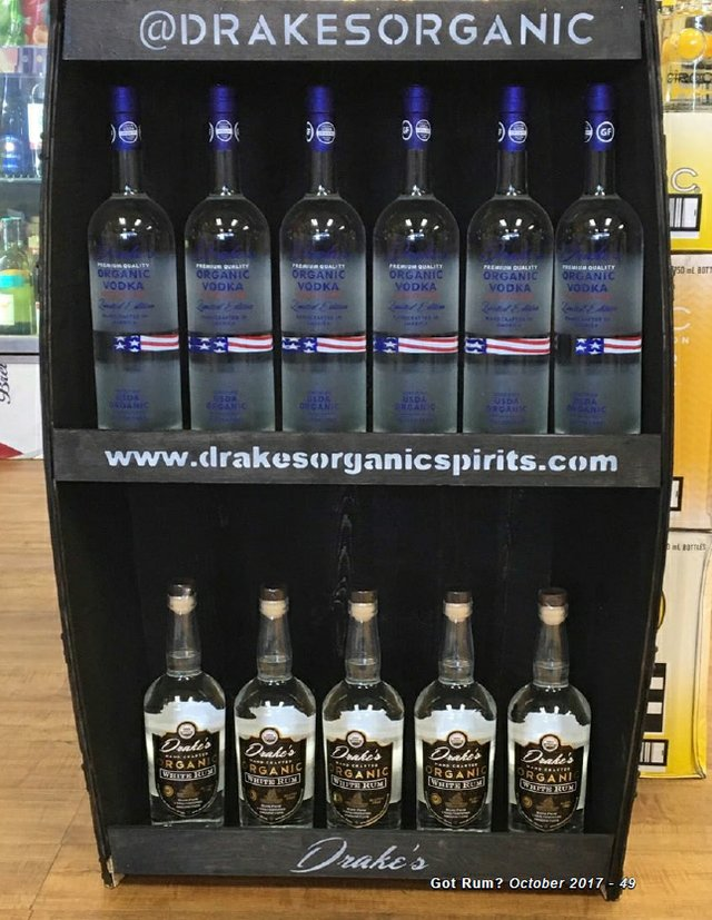 Drake's Organic Spirits- Vodka and Rum