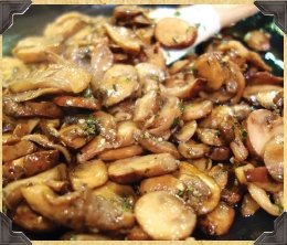 Spiced Rum Chicken and Mushroom