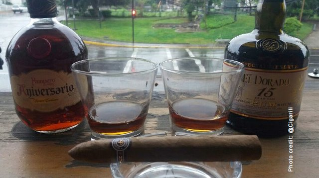 October 2017 Cigar and Rum Pairing