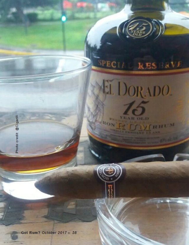Cigar and Rum Pairing for October 2017
