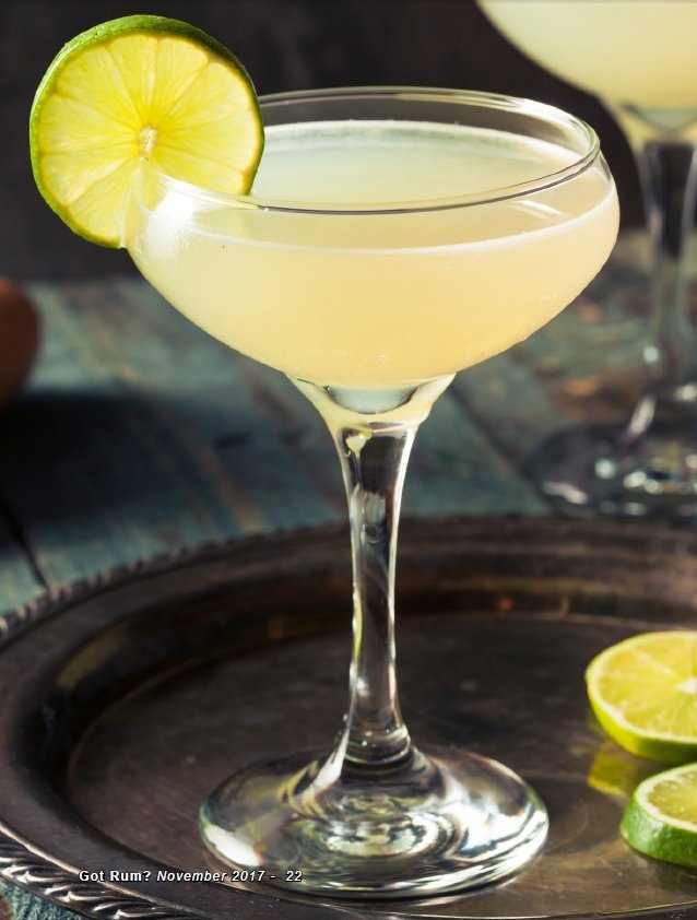 Daiquiri Rhum Cocktail
