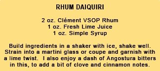 Rhum Daiquiri